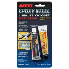 ABRO Epoxy Steel 4 Minute Kwik-Set Automotive Grade