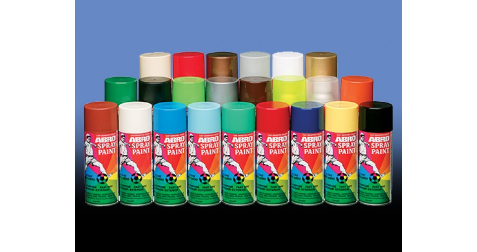Spray Paints And Remover